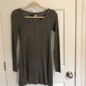 brand new urban outfitters grey dress